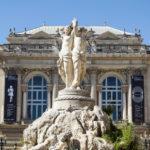 Drei Grazien in Montpellier