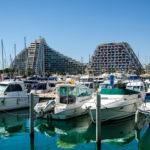 Boote im Hafen von La Grande Motte